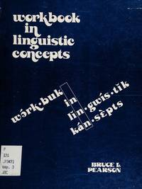 Workbook in Linguistic Concepts
