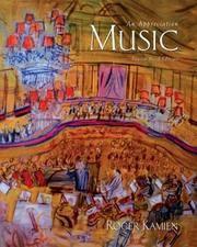 image of Music: An Appreciation,  4th Brief Edition