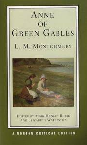 image of Anne of Green Gables (Norton Critical Editions)