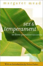 Sex and Temperament