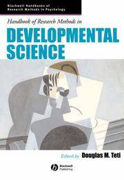 Handbook of Research Methods in Developmental Science (1st US Edition)
