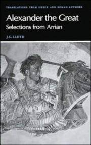 image of Arrian: Alexander the Great
