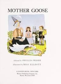 Little Golden Book #4-Mother Goose-50th Anniversary Commemorative Facsimile Edition