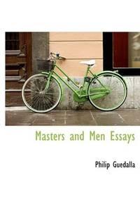 Masters and Men Essays