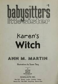 image of Karen's Witch : Baby-sitters Little Sister # 1