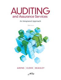 image of Auditing and Assurance Services (14th Edition)
