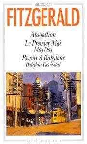 Absolution, Le Premier Mai (May Day), Retour a Babylone (Babylon Revisited) (French Edition)