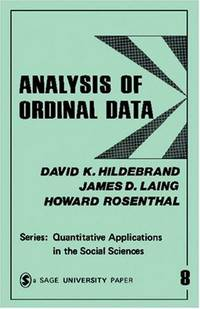 HILDEBRAND: ANALYSIS OF ORDINAL DATA (PAPER) (Quantitative Applications in the Social Sciences)