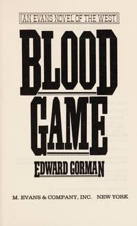 BLOOD GAME by Gorman, Edward - 1989
