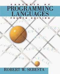 image of Concepts of Programming Languages
