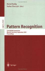 Pattern Recognition: 23rd DAGM Symposium, Munich, Germany, September 12-14, 2001, Proceedings