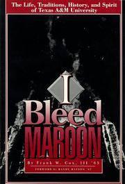 I Bleed Maroon