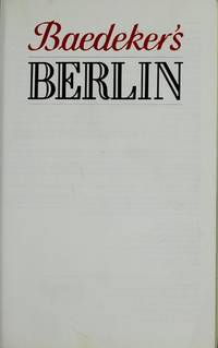 Baedeker's Berlin.