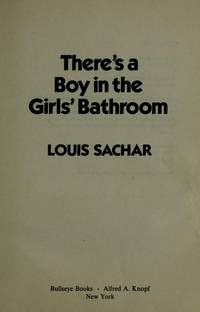 image of There's a Boy in the girls' Bathroom