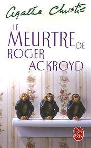 La meurtre de Roger Ackroyd by  Agatha Christie - Paperback - 1927 - from rerunz entertainment and Biblio.com