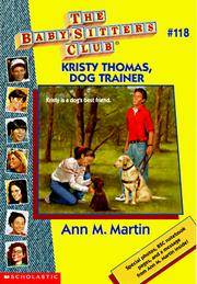 image of Kristy Thomas: Dog Trainer (Baby-Sitters Club)