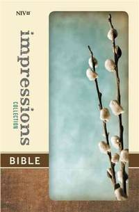 NIV Impressions Collection Bible NIV Gray Pussy Willow binding