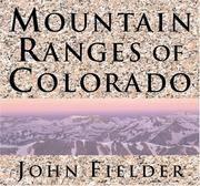 Mountain Ranges of Colorado.