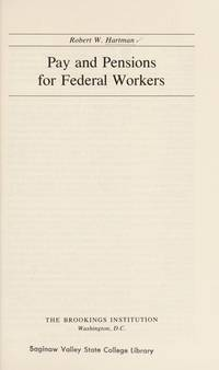 Pay and Pensions for Federal Workers