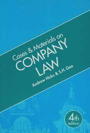company law cases and materials pdf