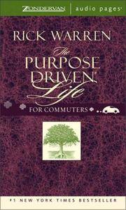 image of Purpose Driven Life- for Commuters: What on Earth Am I Here For?
