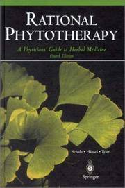Rational Phytotherapy: A Physicians' Guide to Herbal Medicine