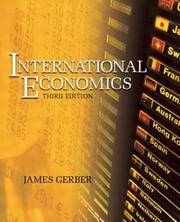 image of International Economics (3rd Edition)