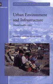 Urban Environment and Infrastructure: Toward Livable Cities (Directions in Development)