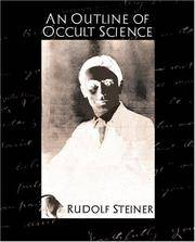 image of An Outline of Occult Science