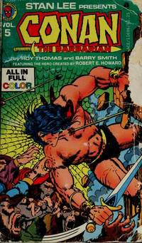 Stan Lee presents Conan the Barbarian Vol. 5 by  Barry (based on Robert E. Howard books)  Roy and Smith - Paperback - 1978 - from Massoglia Books and Biblio.com