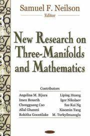 New Research on Three-Manifolds and Math