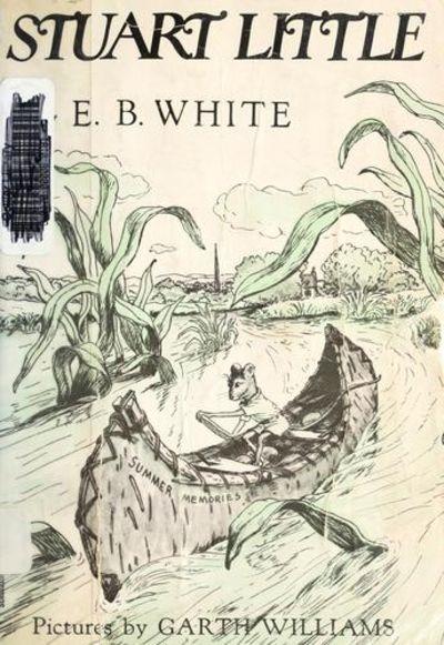 Book Cover White River : Stuart little by white e b