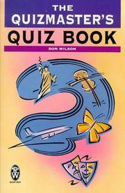 image of The Quizmaster's Quiz Book