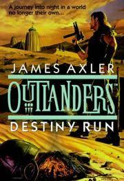 Destiny Run (Outlanders) [Abridged Audio Cassettes]