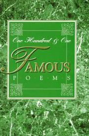 image of 101 Famous Poems
