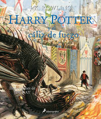 Harry Potter (Ilustrado 04) y el cáliz de fuego (Spanish Edition)
