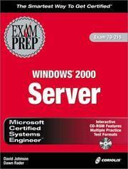 MCSE Windows 2000 Server Exam Prep (Exam: 70-215)
