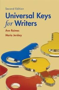 image of Universal Keys for Writers (with 2009 MLA Update Card)