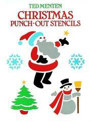 Christmas Punch-Out Stencils