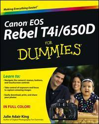 Canon Eos Rebel T4i650d For Dummies