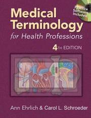 image of Medical Terminology for Health Professions (Medical Terminology for Health Professions)4th edition
