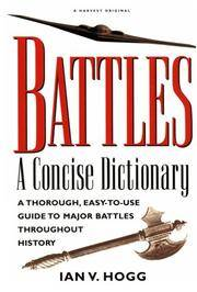 Battles:: A Concise Dictionary