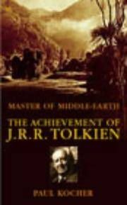 image of Master of Middle Earth: The Achievement of J.R.R.Tolkien