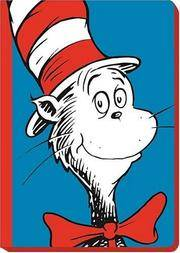 J1 - Cat in the Hat Blank Journal