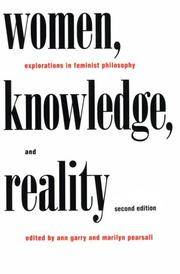 Women, Knowledge and Reality