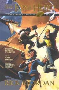 image of The Lost Hero: The Graphic Novel (Turtleback School_Library Binding Edition) (The Heroes of Olympus)
