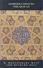 Bell's Introduction to the Qur'an