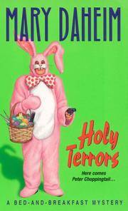 Holy Terrors (Bed-and-Breakfast Mysteries)