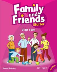 Family And Friends: Starter: Class Book Plus Student Multi-ROM - Used Books