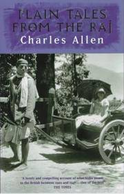Plain Tales from the Raj: Images of British India in the Twentieth Century by Charles Allen - Paperback - 1988 - from BookVistas and Biblio.com